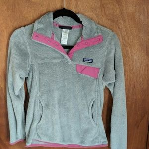 Patagonia Women's re-tool snap-t fleece pull over